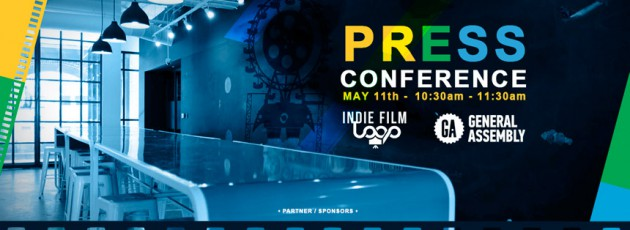 Official Indie Film Loop Press Conference held and sponsored by the General Assembly at Ponce City Market